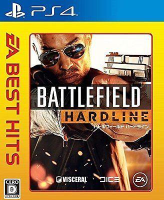 PS4 EA BEST HITS Battlefield Hardline Japan Import PlayStation 4 Sony Japanese