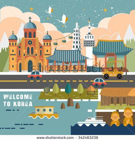seoul stad siluett - Sök på Google