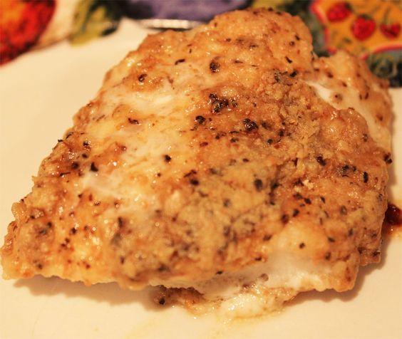 Filete de pescado a la mantequilla