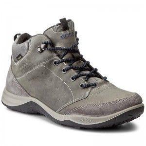 Trekker Boots ECCO - Espinho GORE-TEX 83902457486 Titanium/Dark Shadow