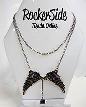 Collar de alas. $20.000 Adquierelo en www.rockerside.com Envíos a todo Colombia, aceptamos todos los medios de pago