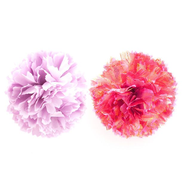pom pom hair style mini pom pom set of 2 pink for your hair products i 3303 | 2d30a560199ba1e31bb3c317d3f32e85