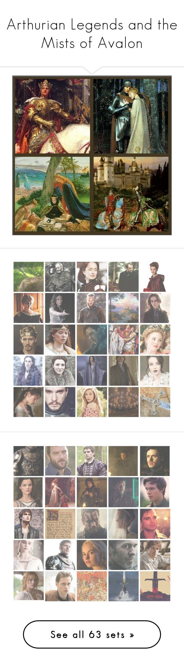 """""""Arthurian Legends and the Mists of Avalon"""" by danicathorne on Polyvore featuring arte, kitchen, country, borgia, isolda dychauk, people, art, Branca, Linda Horn e gods"""