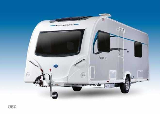 Bailey Pursuit Plus 550-4, (2014) New  Touring caravan for sale in Tyne - in stock now!