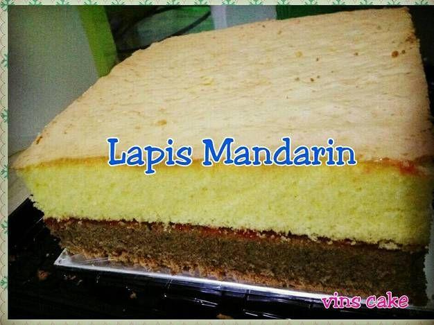 Resep Lapis Mandarin Ekonomis No Sp Oleh Susanti Vinscake Resep Resep Kue Resep Kue