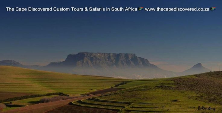 Iconic Table Mountain (photo borrowed)