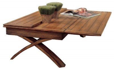 Pull Out The Expandable Coffee Table When Youu0027re Ready To Cater To A Larger