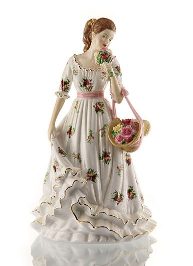 Royal Doulton Pretty Ladies Annuals, Sweet Roses - Royal Albert Old