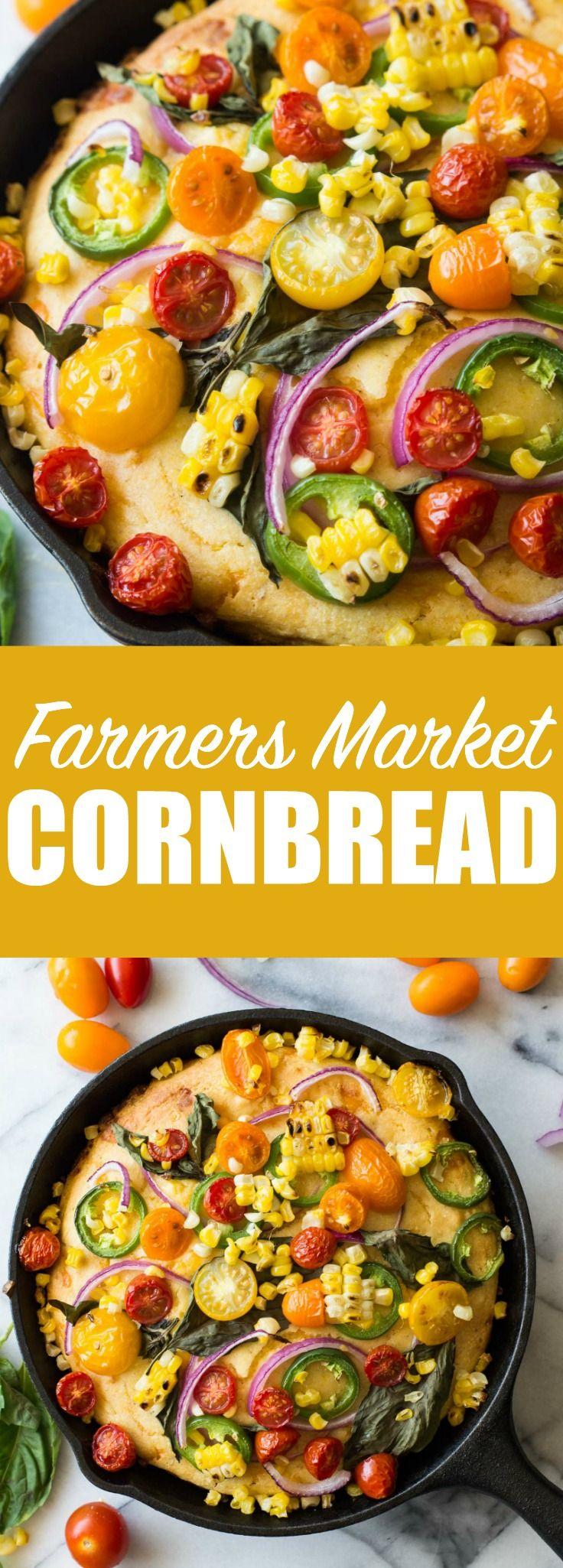 ... Market Cornbread | Recipe | Corn cheese, Cornbread and Fresh basil