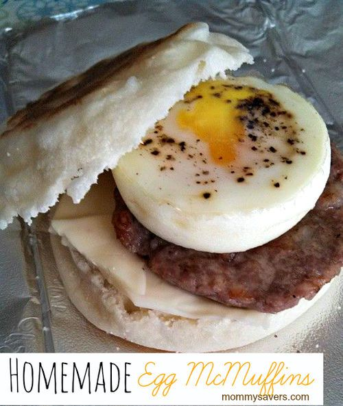 Make your own Egg McMuffins at home - here is the lowdown on how to cook them, freeze them, and reheat them so they taste FABULOUS.