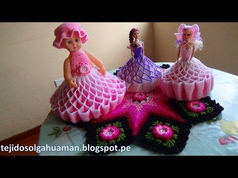 Örgü Bebek Yapımı Videolu Anlatım İle Barbie Bebekler - El Sanatları ve Hobi
