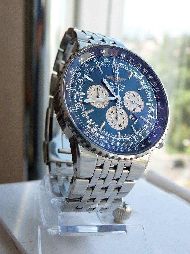 Breitling navitimer watch(steel) #Breitling #navitimer #HéRITAGE #watch #watches #watchesofinstagram