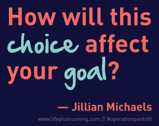 Something to keep in mind from Jillian Michaels!