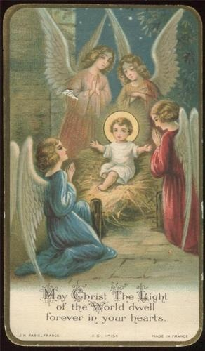 Infant Jesus prayer card
