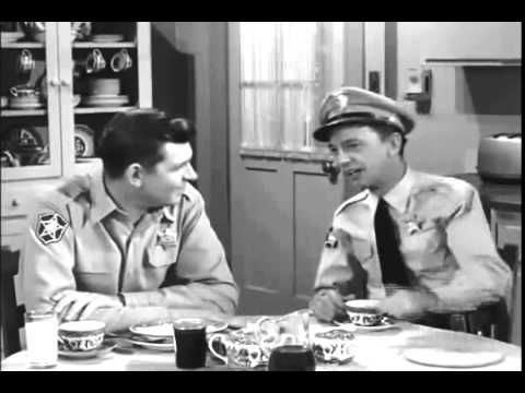 """Barney Fife's """"knowledge"""", ha! Here he is explaining """"The Emancipation Proclamation"""" on The Andy Griffith Show!"""