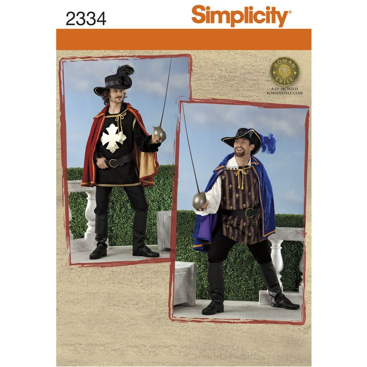 The 36 best Available Patterns - Men\'s/Child\'s/Misc Costume images ...
