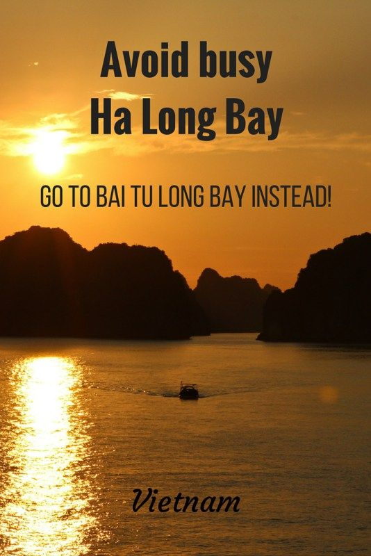 Beautiful Bai Tu Long Bay, Vietnam – stay away from Ha Long!