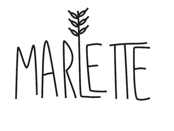 logo marlette organic bio homemade cooking  kit cooking