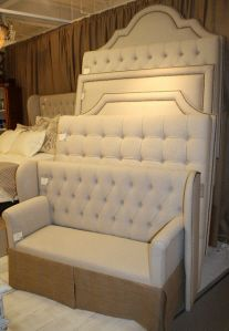 16 best images about upholstered headboards on pinterest - Custom headboard ...
