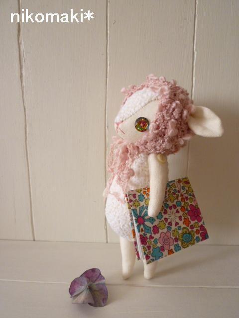 minne(ミンネ)| 気ままなひつじdoll*おやすみ帽子の子羊ちゃん