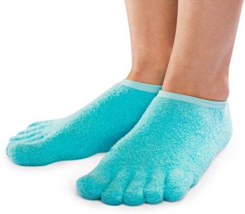 Five-Toe Moisturizing Gel Socks | Jet.com