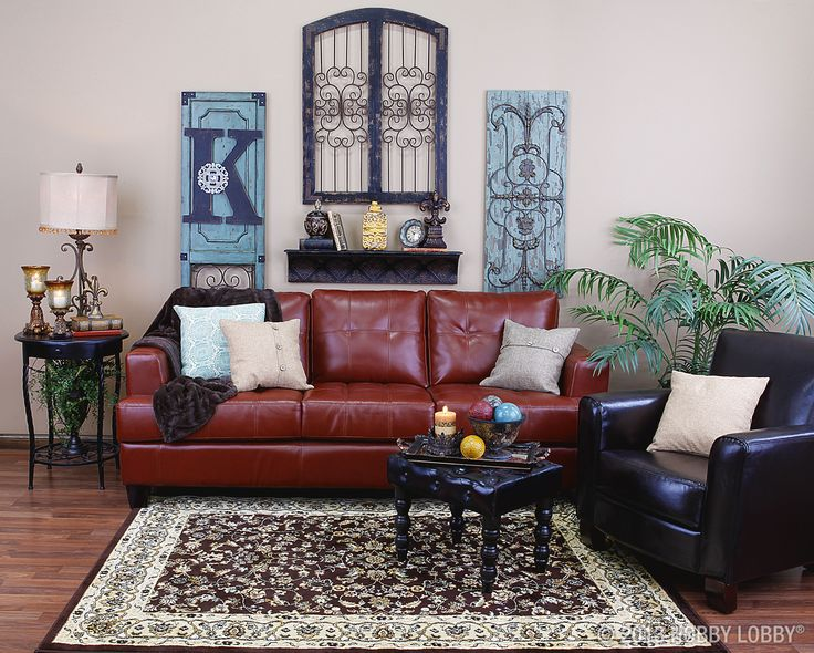 We went for Old World ambiance in this space. Bold ironwork, artfully aged wood and a beautifully rich color scheme combine to create a room that's perfectly comfortable—but utterly refined.