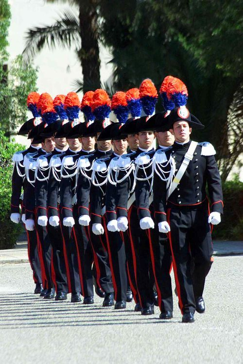 Carabinieri on parade--Italy (by Paolo Pintus)