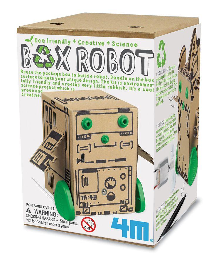 Box Robot Kit | zulily