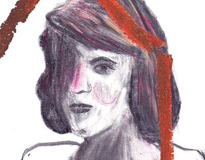 SYLVIA PLATH | portrait http://on.be.net/1RvTIBt