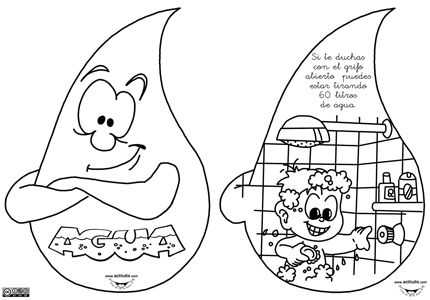 Escuela sostenible San José (Torrejón de la Calzada): Libro-gota de agua