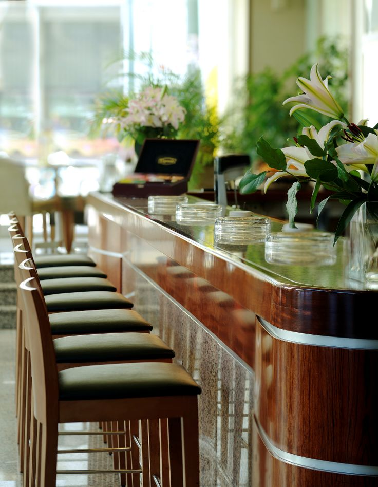 Enjoy an expertly brewed coffee, or a freshly made juice with at the Day Bar at The #Stanley.