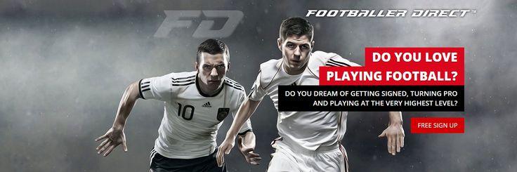 Visit Footballer Direct and start getting spotted today www.footballerdirect.com #FootballerDirect