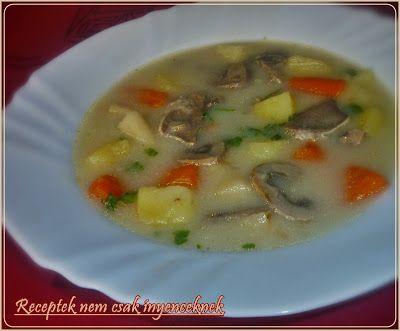 RECEPTEK nem csak ínyenceknek: Szíve-nyelve leves
