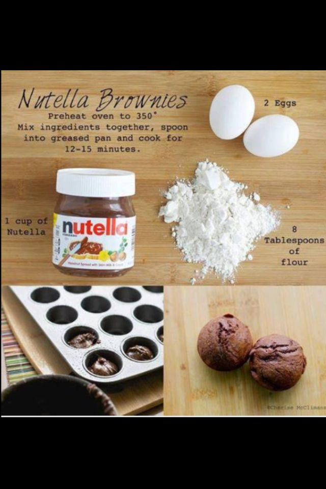 #nutella#recipe Seems easy, probably not the tastiest, but I'm trying it.