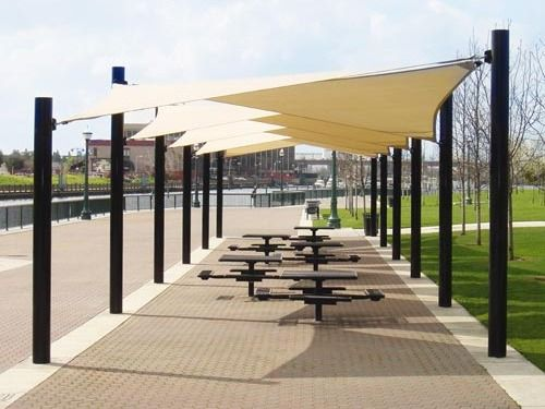 Shade structures screen the sun keep the fun shade for Sun shade structure