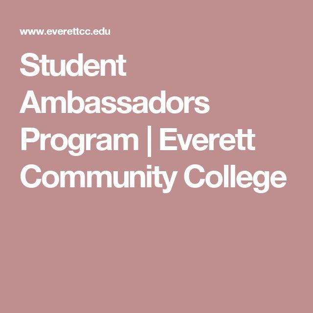 Student Ambassadors Program | Everett Community College