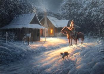 Dennis Schmidt Beatin The Dawn - Southwest Gallery: Not Just Southwest Art.