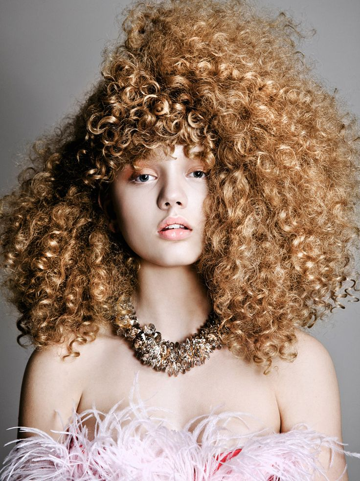 Botticelli Curls Hair Pinterest