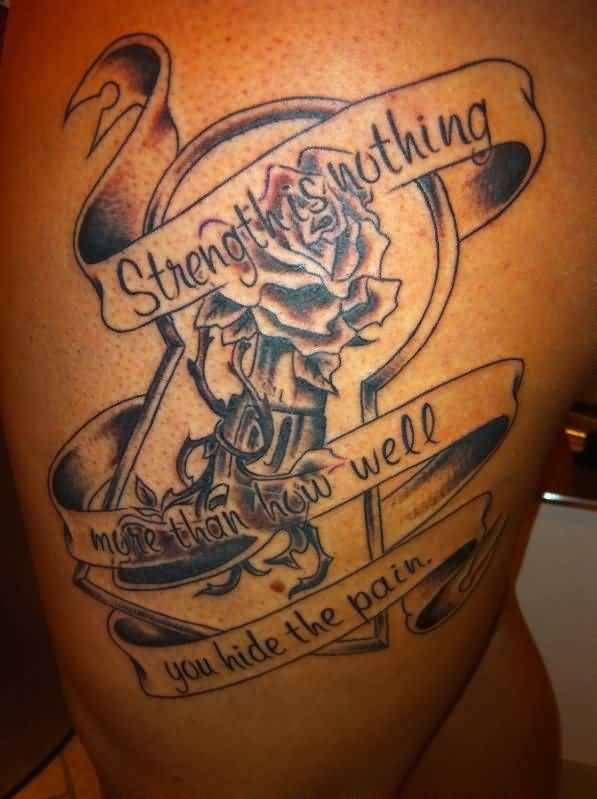 25 best ideas about strength tattoo designs on pinterest