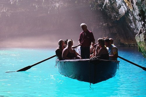 #Boat #cave #Kefalonia