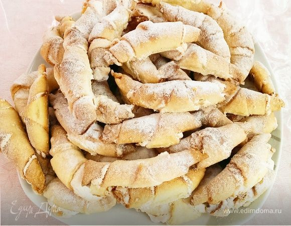Нежнейшие рогалики с безе | Кулинарный сайт Юлии Высоцкой: рецепты с фото