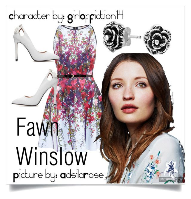 012: Fawn Winslow by adsilarose on Polyvore featuring polyvore fashion style Ted Baker Bling Jewelry clothing