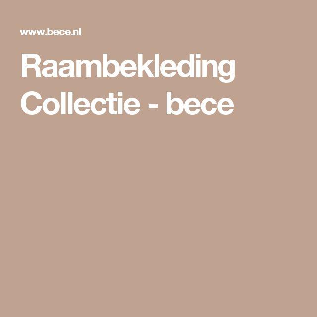 Raambekleding Collectie - bece