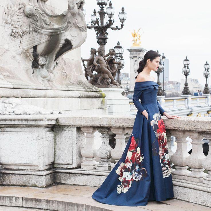 Carolina Herrera Pre-Fall 2015 shot by Paris in four months