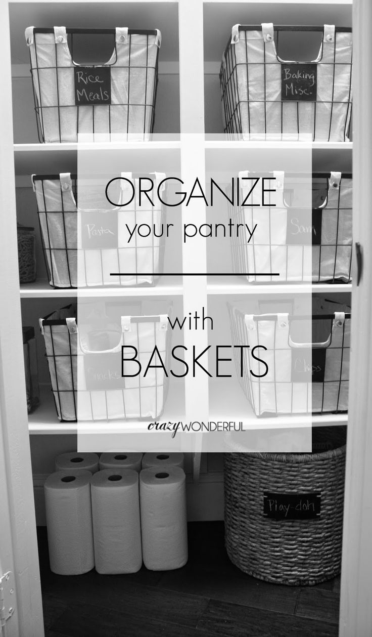 Crazy Wonderful: pantry makeover | after