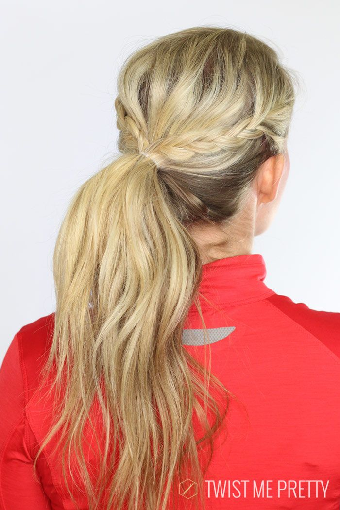 5 workout hairstyles - Twist Me Pretty