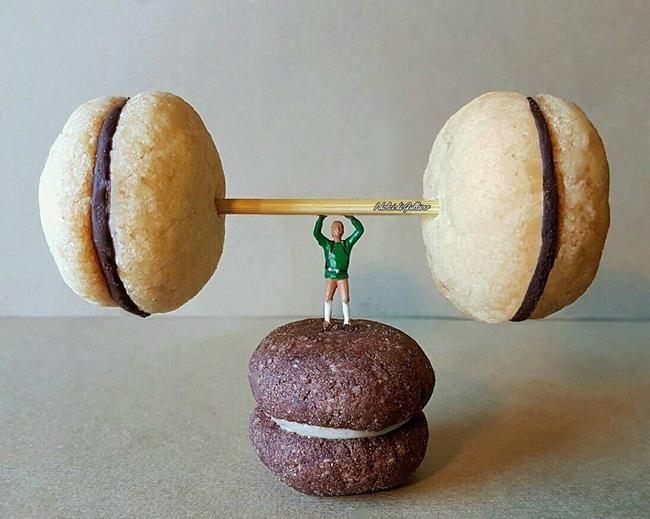 Pasta Şefinden Minyatür Dünya'ya Obur Bakışı Temsil Eden Birbirinden İlginç Fotoğraflar Sanatlı Bi Blog 23