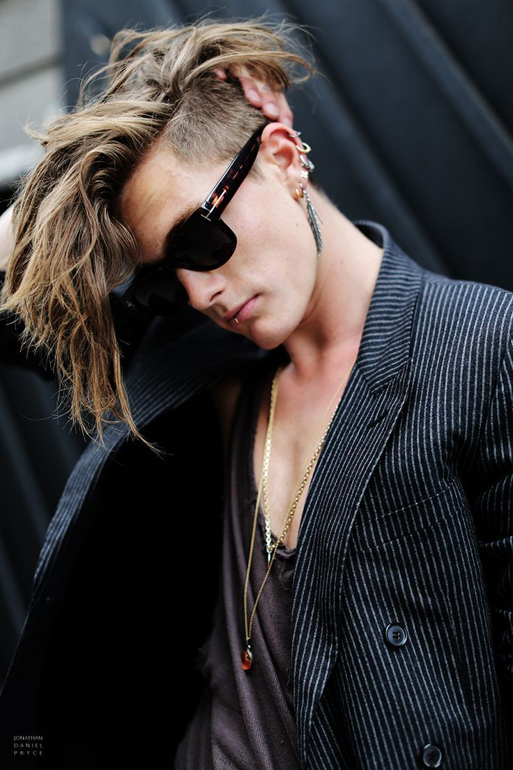43 medium length hairstyles for men men s hairstyles and - Long Undercut Light Brown Long Undercut Menmale Hairstyleshaircutsmens