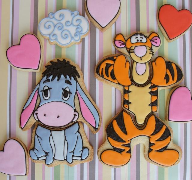 Eeyor and tigger cookies