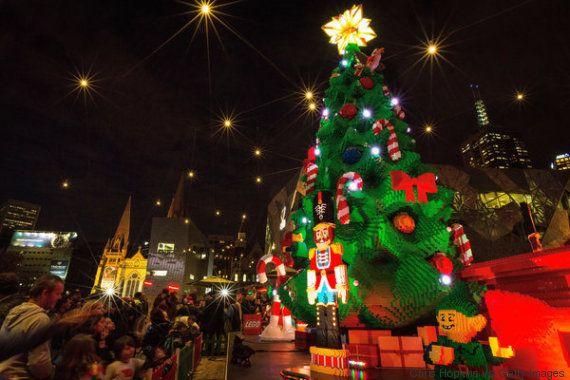 Los árboles de Navidad más extravagantes y creativos de 2015
